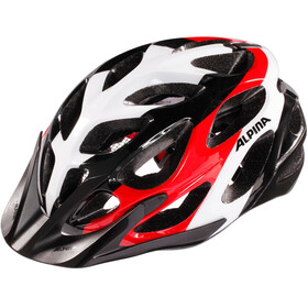 Alpina Mythos 2.0 Helmet black-white-red